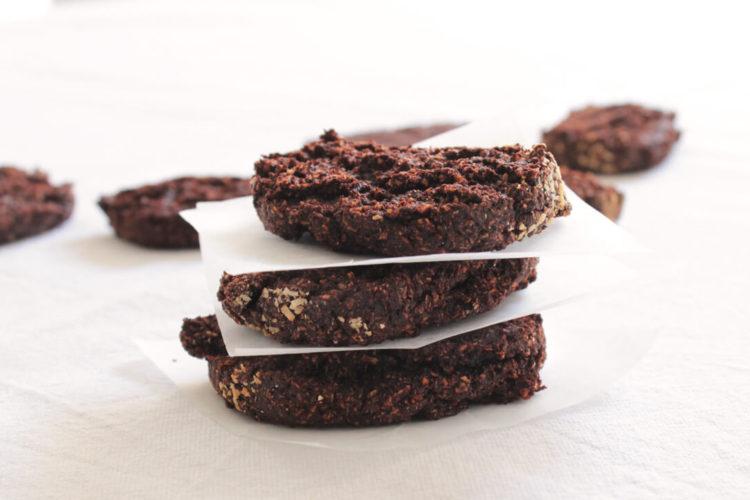 Biscotti con cacao e yogurt