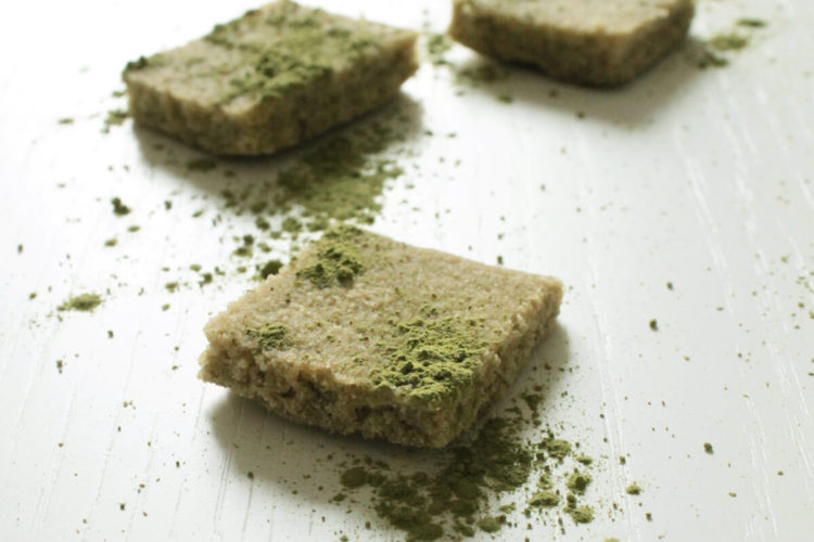 Green tea matcha mochi