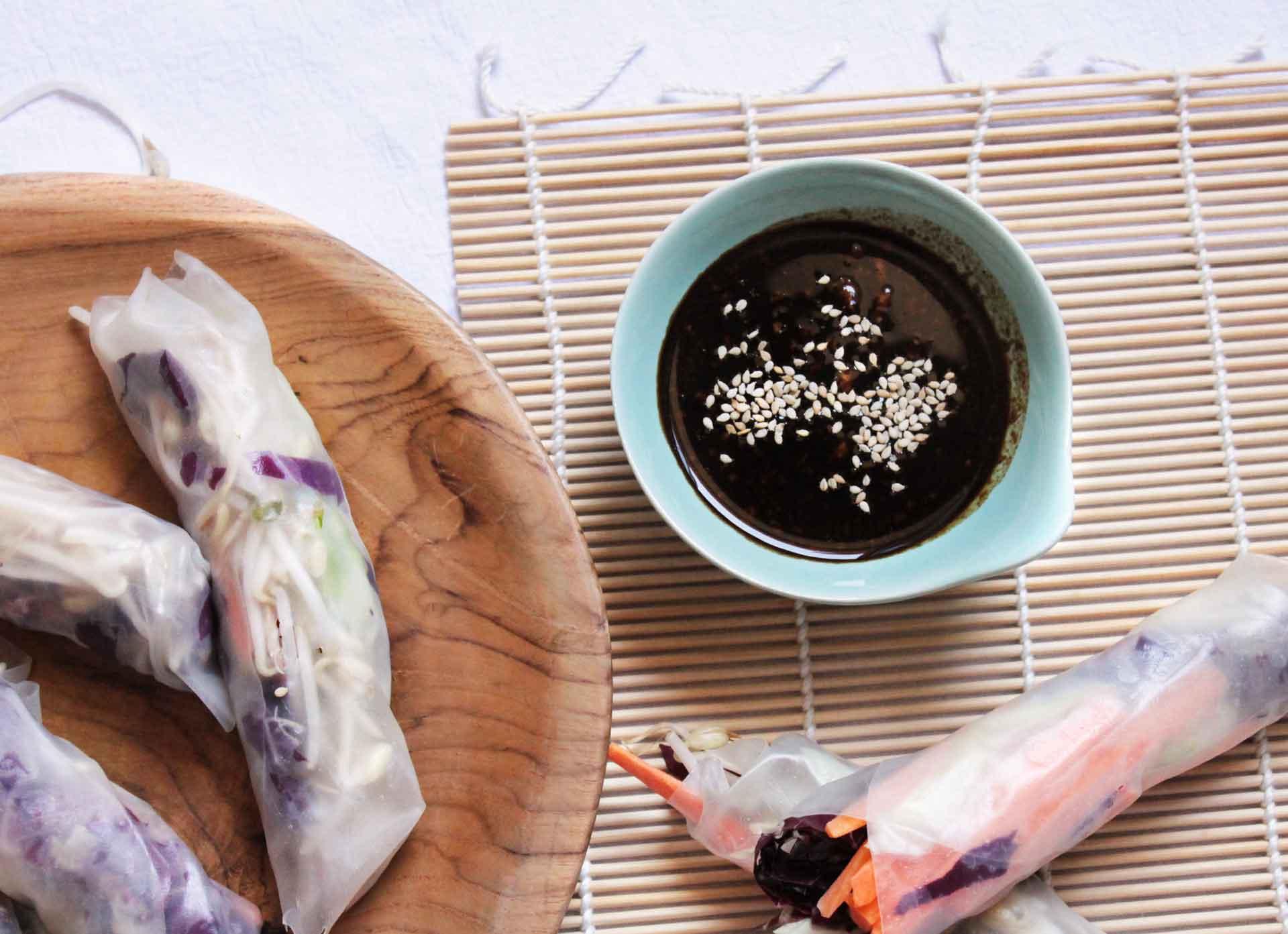 salsa di soia mostarda e semi di sesamo
