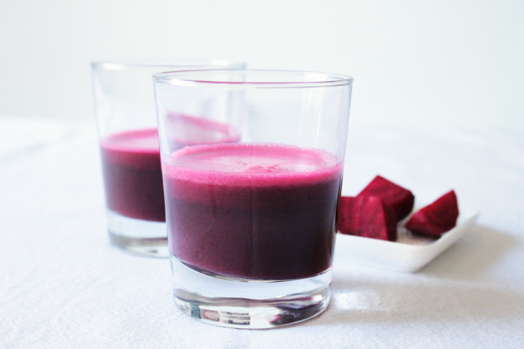 Beetroot detox juice