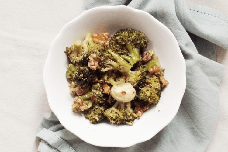 Broccoli alle noci