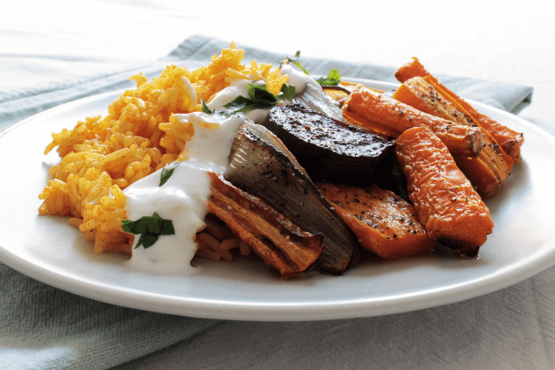 Barbabietole, scalogni e carote