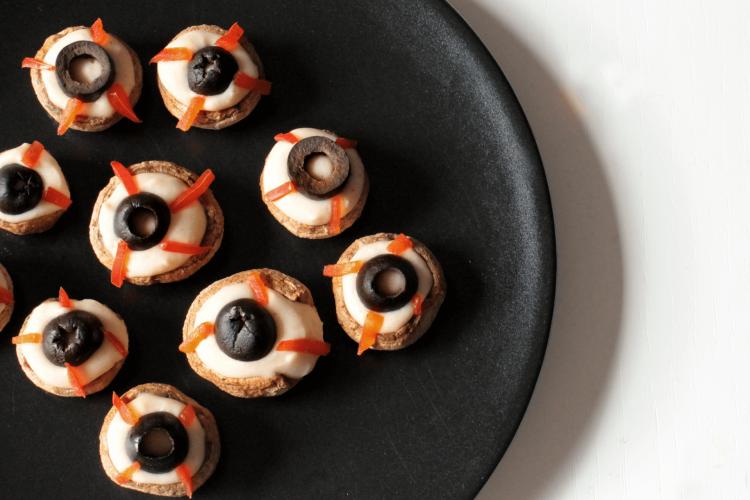 Occhi di Halloween – Funghi ripieni