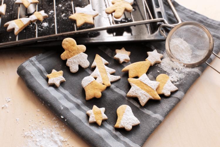 Biscotti di Natale all'arancia